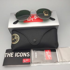 Ray Ban Men's Icons RB3447 029 50 Gunmetal Round Sunglasses